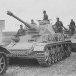 Column Panzer IV G