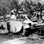 Destroyed Ausf H Italy 1944