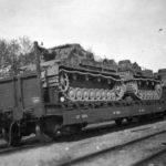 Panzer IV Ausf F train