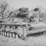 Panzer IV G 20 Div winter