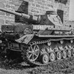 Panzer IV G Abandoned at Palermo Sicily 24sep1943
