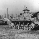 Panzer IV and III tanks at Aberdeen Proving Ground 1943