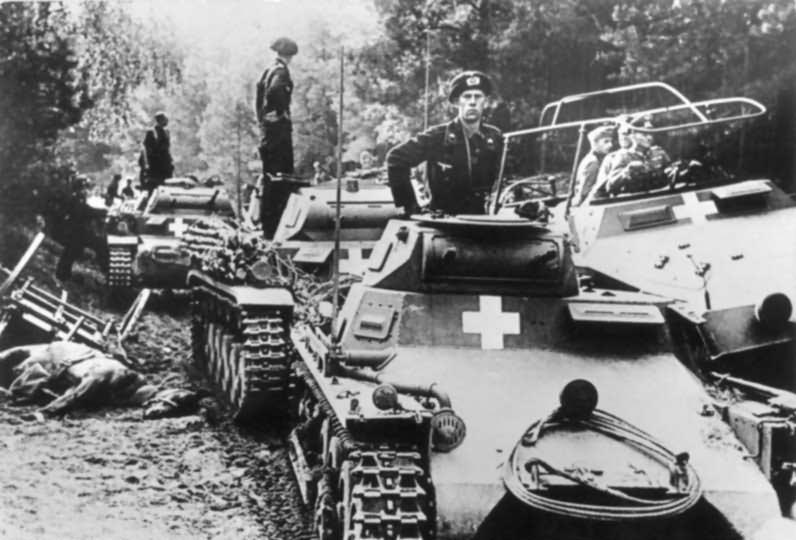 Poland 1939 Panzer I and II tanks