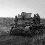 FlakPanzer I self propelled anti aircraft gun