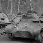 German Panzer I tanks
