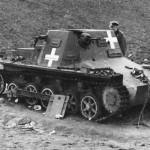 Kleine Panzerbefehlswagen auf Gw I Ausf B Poland 1939