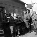 Ladungsleger Panzer I Fahrgestell