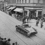 Panzer I ausf A on street