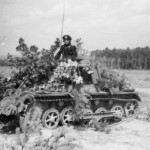 Panzer I befehl camouflaged