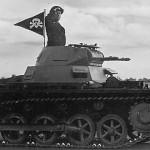 Panzer I parade