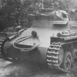 Panzer I tank front view