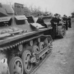 Panzer I tanks column 2