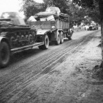 Panzer I transported on truck and trailer