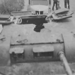 Panzer I with damaged turret France 1940