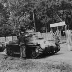 Panzerbefehlswagen I in Galasko near Lwow Poland 1939