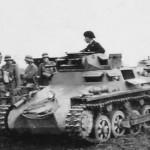 german PzKpfw I tank