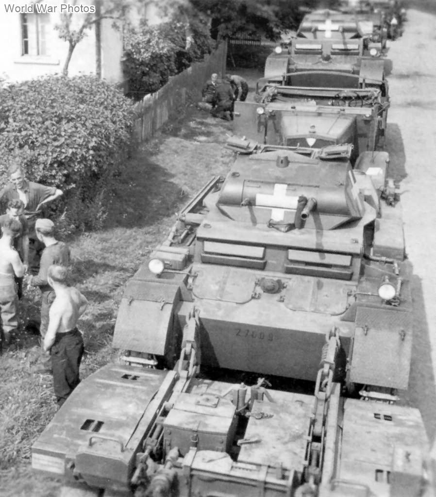 Panzer II Ausf D of the Panzer-Abteilung 67, 1 September 1939
