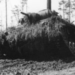 Camouflaged Panzer III