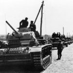 Column of Panzer III Ausf J