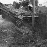 Destroyed Panzer III code 7