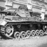 German medium tanks Panzer III eastern front