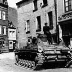 Panzer III code 156 Maastricht 1940