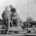 Panzer III 12 Panzer Division near Tichwin 1942