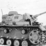 Panzer III tactical number 221 and Panzer IV winter