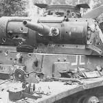 Destroyed Panzer III 5. Panzer Division 1940
