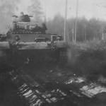 Panzer III tank 8. Panzer Division Lithuania June 1941