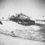 Panzer III Panzer Gruppe Kleist winter 1941 Russia