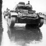 Panzer III Tanks with front spare tracks