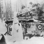 Panzer III operates in deep snow
