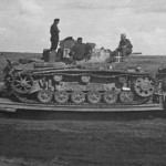 Panzer III ausf G on trailer
