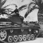 Panzer III in Tripolis DAK Afrika Korps – censored photo