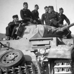 Panzer III number 233 of the 9. Panzer Division (9th Armoured Division of the Wehrmacht)