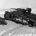 Panzer III tank during field trials