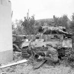 Panzer III tank of Panzer Kompanie Mielke Kampfgruppe Knaust in Oosterhout September 1944