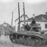 Panzer III tanks during the Operation Barbarossa 1941