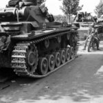 Panzer III tanks France 1940
