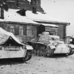 Panzer III tanks Russia winter