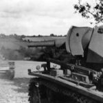 Panzer III tanks on the move