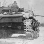 Panzer III winter 1942 – rear view