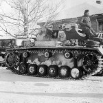 Panzer III during winter operations on the Eastern Front