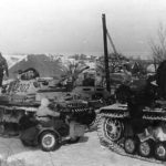 Panzer III number 302 with winterketten