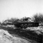 VK 1801 in the background and Panzer III