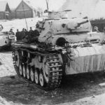 White washed Panzer III tanks of 2 Panzer Regiment Eastern Front