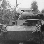 destroyed Panzer III France 1940 photo