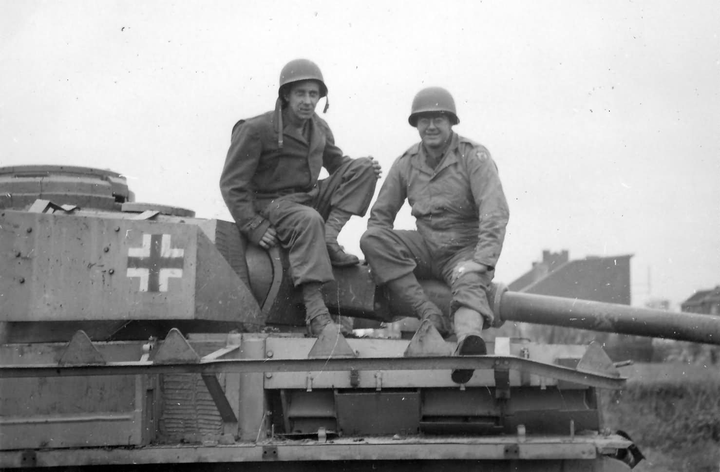 German Panzer IV Ausf J With Zimmerit Liege Belgium 1944