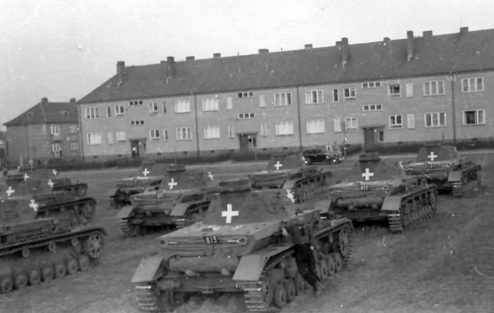 Panzer IV number 613 1939
